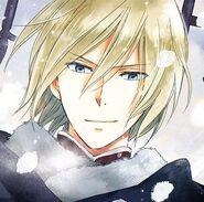 Izana manga cover