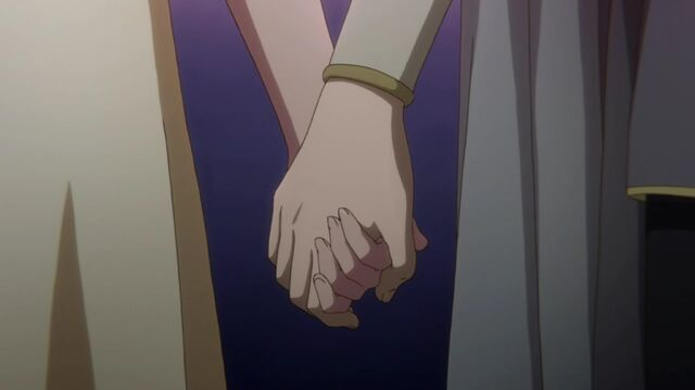 File:Zen and Shirayuki Holding Hands S1E12.jpg
