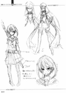Databook - Esdeath Kurome Character Design