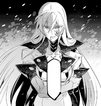 Esdeath accepting her defeat