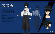 Suzuka's Anime Design