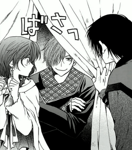 File:Jae-Ha spying on Hak and Yona in the tent.png