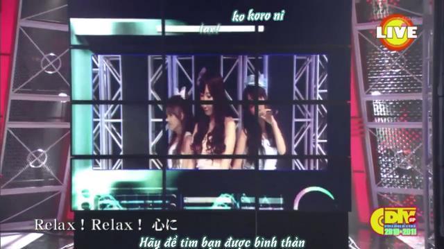 Vietsub Kara PV 1st single No3b - Relax!