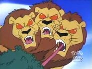 Giant Three Headed Lion 14