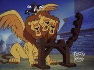 Giant Three Headed Lion 24