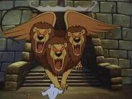 Giant Three Headed Lion 2