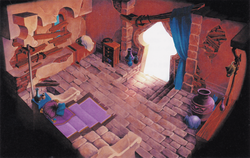 Side View Aladdin home