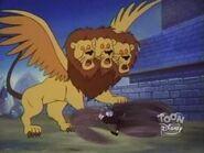 Giant Three Headed Lion 23
