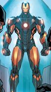 Iron Man Armor Model 42 from Infinity Heist Vol 1 1 page 00
