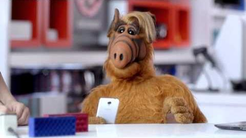 ALF's Cell Phone RadioShack InWithTheNew-0