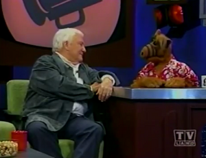 Merv Griffin on ALF's Hit Talk Show