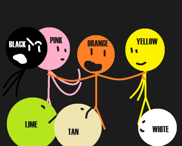 File:BLACK, WHITE, LIME, PINK, ORANGE, TAN E YELLOW..png