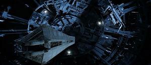 Deep salvage ship