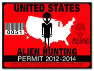 Alien Hunting License