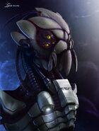 Sr bug alien head by hazzard65-d4ehmwk