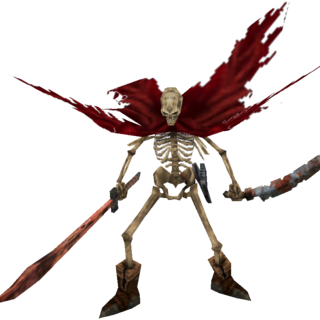 Forbidden, one of the few undead monsters.