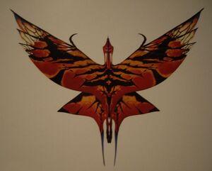 Flügelzeichnung Großer Leonopteryx
