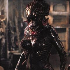 Eve in her alien form