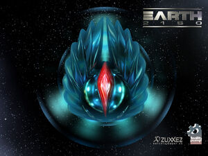 Aliens Earth 2160 Logo