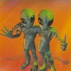 A pair of Greys from <i>StarTopia</i>.