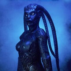 Sara in her alien form (High-definition)