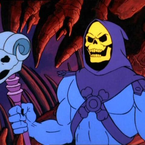 Skeletor, as seen in the original animated series