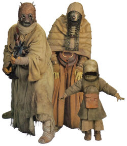 Tusken Raider Family