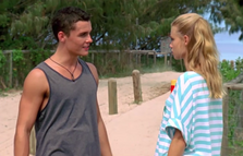 Brandon talks to Zoey