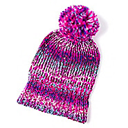 File:Marled Beanie Cap with mini sequins and pompom.jpg