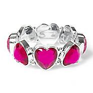 File:Gem Heart Stretch Bracelet - Pink.jpg