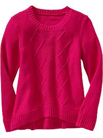 File:Girls Cable-Knit Crew-Neck Sweater Raspberry.jpg