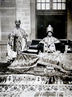Zewditu and favored priest