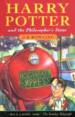 Harry Potter and the Philosophers Stone Book J K Rowling