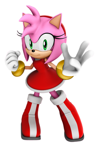 Amy Rose (Sonic games) 001