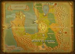 Michelle deGrandeur map