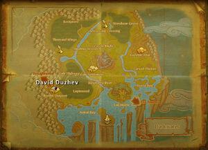 David Duzhev map
