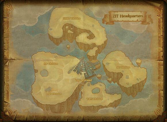 Map zit headquarters
