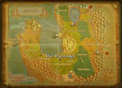 Shur Diamondev map