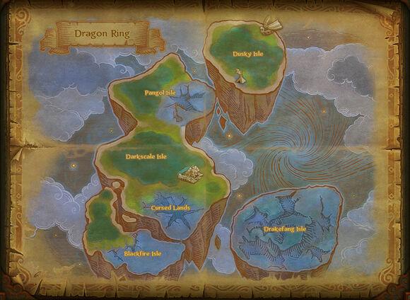 Map dragon ring