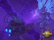 Astral ship battle