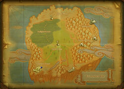 Saviours Coast map