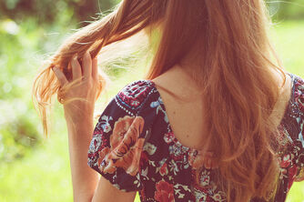 Back-floral-girl-hair-red-hair-redhead-Favim.com-54054 large