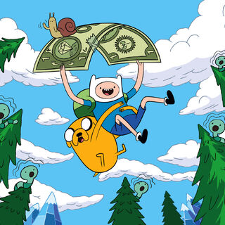 Cartoon Network's <i>Adventure Time</i>.