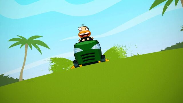 File:Duck with a mower.jpg