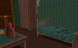 2nd Floor Dark Bedroom 1