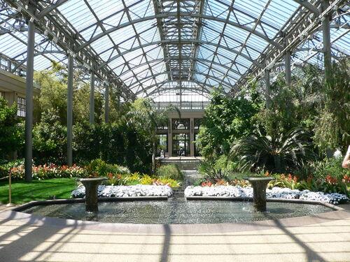 Council HQ Gardens conservatory atrium