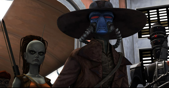 File:Cad Bane and his gang of Bounty Hunters.jpg