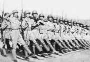 250px-US equipped Chinese Army in India marching