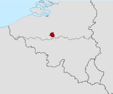 Locatie van Brussel