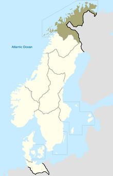 Sapmi Map